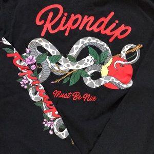 Ripndip must be nice long sleeved shirt